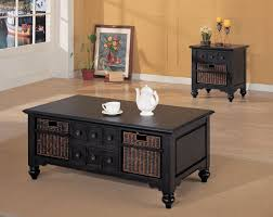 what to put on end tables besides lamps medium brown side table dark wooden rectangle coffee table beige tile wool area rugs clear tempered glass top brown
