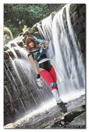 Giulia as Eagle Marin from Saint Seiya: cosplaygirls