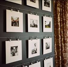 Ideas Best Idea Creative Ways Hang Without Frames Billion . within Creative  Photo Hanging Ideas