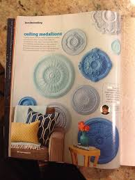 painted ceiling medallions diy wall art from hgtv magazine on diy ceiling medallion wall art with 14 decorating with ceiling medallions on wall ceiling medallion