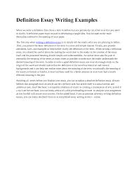 essay example definition essay extended definition essayswrite a formal essay example of formal essay writing