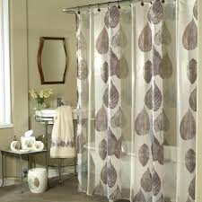 smlf image of mesh pockets vinyl shower curtain clear