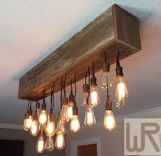 barn wood chandelier reclaimed barn wood chandelier light fixture by