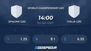 Spagna U20 v Italia U20 Risultati in Diretta e Streaming + Quote