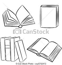 books vector ilration