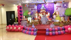 fresh first birthday decoration ideas at home for girl birthday