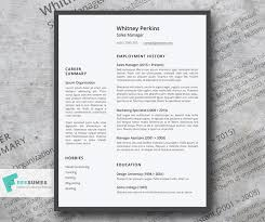 Free Resume Templates 2015 The Minimalisticlean Simple Free Resume Template Freesumes