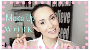 professional makeup look video tutorial quick easy office makeup tips you