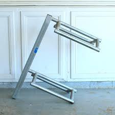 metal saddle rack wood dimensions plans design diy
