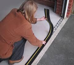 draught excluder garage door garage door rubber seal for garage door