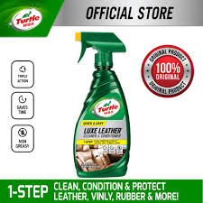 turtle wax luxe leather cleaner conditioner t363a 473ml