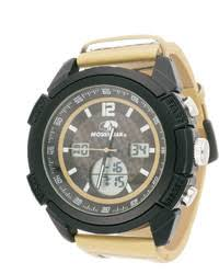 beige leather watches for men men s fashion jcpenney mossy oak beige camouflage leather strap sport watch