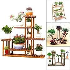 wooden plant stands indoor 3 4 5 tier wooden wood plant stand flower pot rack holder wooden plant stands