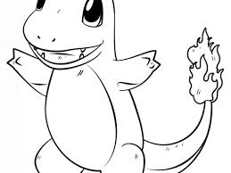 Small Picture Pokemon Coloring Pages CharmanderKids Coloring Pages