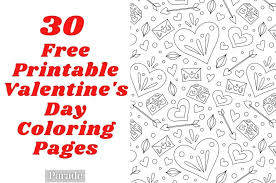 Click on valentine´s day coloring pictures below for the printable valentine´s day coloring page. 30 Valentine S Day Coloring Pages Free Printable For Kids Adults