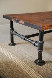 steel pipe furniture. DIY Coffee Table Projects Steel Pipe Furniture