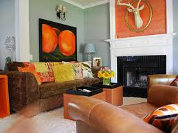 Orange Living Rooms Decorating Your Bedroom Walls Spanish Colonial Living Room