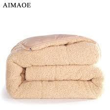 100 polyester fiber comforter white bedding sets winter blanket high quality warm quilt for home hotel