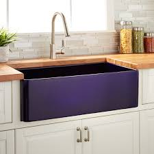 Fireclay Sink Reviews 30 reinhard fireclay farmhouse sink sapphire blue kitchen 5142 by guidejewelry.us