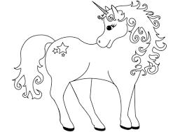 Disegni Da Colorare Degli Unicorni Con Stelle Blogmammait