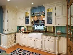 Blue Painted Kitchen Cabinets Contemporary Kitchen New Contemporary Painting Kitchen Cabinets