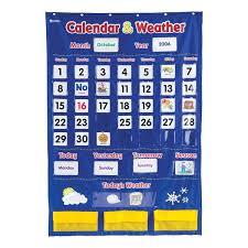 Calendar Weather Pocket Chart Plsa Wish List Pinterest
