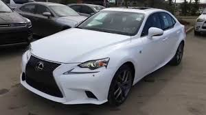 lexus is 250 2015 white. new ultra white on red 2015 lexus is 250 awd f sport series 2 review of edmonton youtube is x