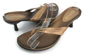 Kenneth Cole Reaction Shoes Size Chart Kenneth Cole Reaction Flo Rence Womens Bronze Kitten Thong