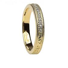 Ladies Gold Wedding Rings