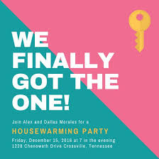 Customize 39 Housewarming Invitation Templates Online Canva