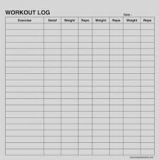 Weight Training Record Sheet Printable Weight Training Log Book Download Them Or Print