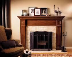 image of fireplace mantel shelves book storage
