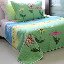 Hand Quilting Cotton Bed cover Bed quilt Two piece Patchwork ... & Hand Quilting Cotton Bed cover Bed quilt Two piece Patchwork Postoral Style  Quality Bedclothes Full bed Adamdwight.com