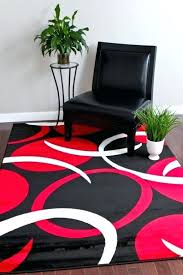 red and black rugs photo 1 of 9 black and red rugs modern 1 red black 5