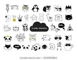children s minimalist cartoon fashion