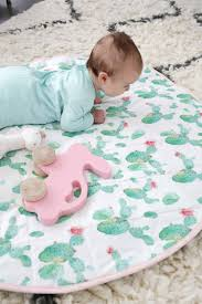 the thing i also love about baby diys is that you can customize all your colors to match your house or nursery pastel cactus print and pink accents