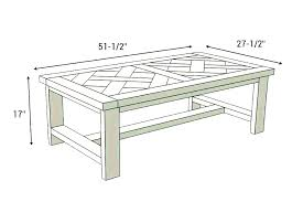 standard height of a coffee table standard table height coffee table height coffee table size rules