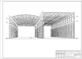 Цех металлоконструкций машиностроительного завода город Рязань