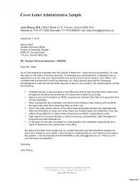 Excellent Example Administrative Assistant Cover Letter For Sample