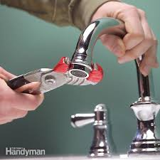 Bathroom Sink Faucet Repair Impressive How To Clean And Repair A Clogged Faucet The Family Handyman