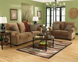 Beautiful Green Living Room/family Room/basements This Room Had Similar Furniture To  Mine And