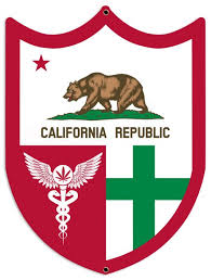 california flag green cross medical