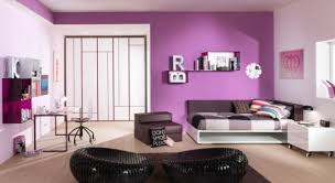 teens bedroom color ideas   Stylish Feminine Teen Girls Bedroom with Lilac  Color Accent Ideas Best
