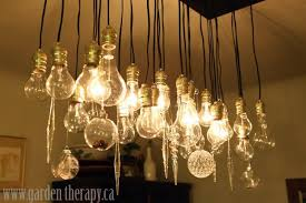 lightbulbs bare. My Chandelier All Dressed Up For The Holidays. Hmmm, I Just May Keep Lightbulbs Bare H