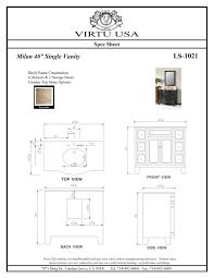 Standard Bathroom Vanity Top Sizes Bathroom Bath Vanity Cabinets Standard Depthbathroom Depth Double