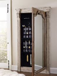 Mirrored Jewelry Cabinet Armoire Furniture Full Length Mirror Jewelry Armoire Jewelry Armoire