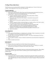 essay topics for college applications college essay questions