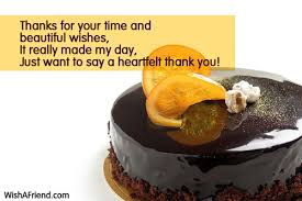 Beautiful Thank You Quotes For Birthday Wishes Best of Thanks For Your Time And Beautiful Thank You For The Birthday Wishes