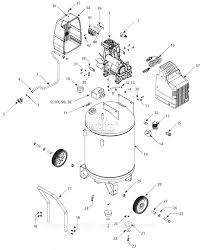 Arb air locker parts diagram wiring diagrams schematics c bell hausfeld hu502000av parts diagram for air pressor