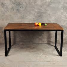 loft wind retro simple wood desk staff american iron company computer desk employee table in axe from home improvement on aliexpress com